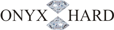 ONYX HARD Jubiler sklep jubilerski złotnik pracownia zakład obrączki ślubne złote pierścionki zaręczynowe Siemianowice Piekary Śląskie Ruda Bytom Chorzów Sosnowiec logo