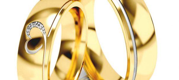złote obrączki ślubne z sercem jubiler siemianowice śląskie